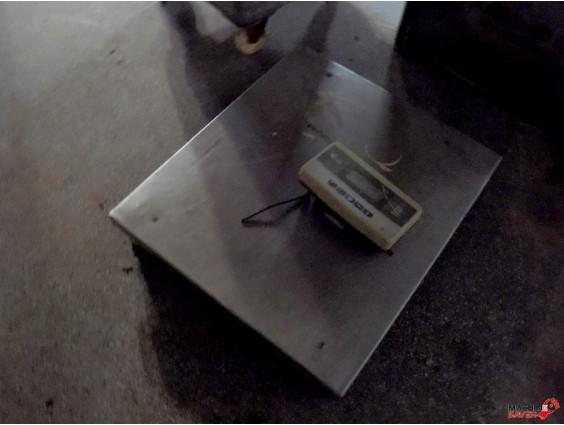 Platformă de cântărire PC4N0 300/600 kg