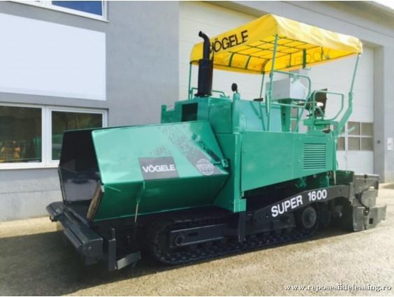 Finisor de asfalt Vogele Super 1600-1 din 2001