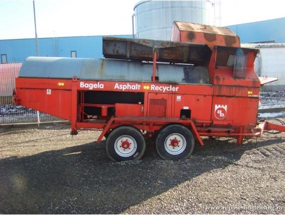Reciclator de asfalt Bagela BA 10000 din 2005