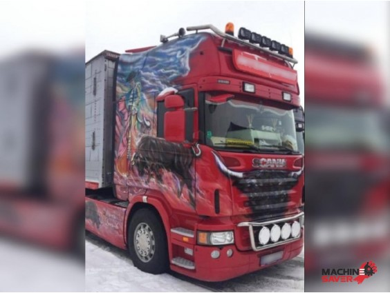 Autotractor Scania R500 din 2012