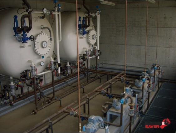 Stație pentru GPL cu 2 rezervoare / butelii din 2006