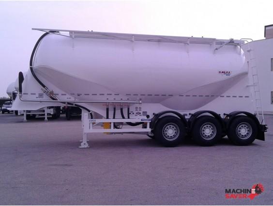 Semiremorcă siloz pentru ciment OMEPS CM 35, nou