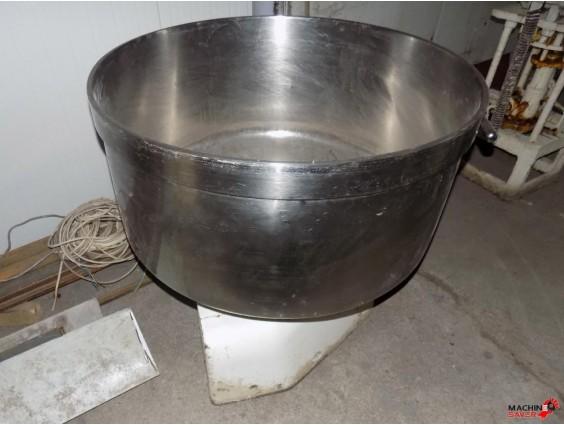 Cărucior cu cuvă pentru aluat de 200 de litri, Esmach