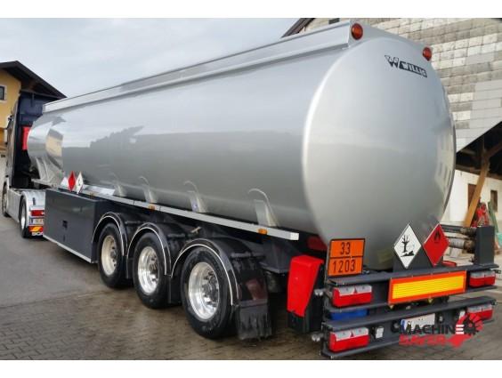 semiremorca cisterna combustibil Willig