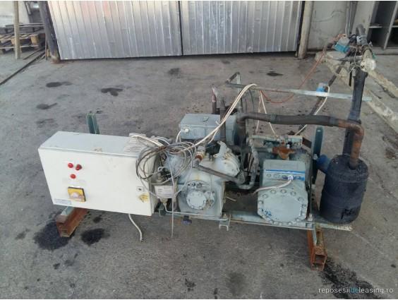 Centrală frigorifică Bitzer 4CC - 6.2Y cu condensator Günther GVV050.3A din 2011