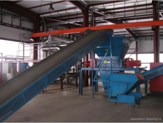 Linie de reciclat cauciucuri REGUTEC REGUPLANT BLUELINE 9000