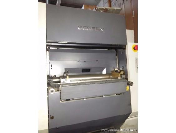 Masina digita de tipar in 4 culori SCREEN TRUE PRESS 344RL 2006