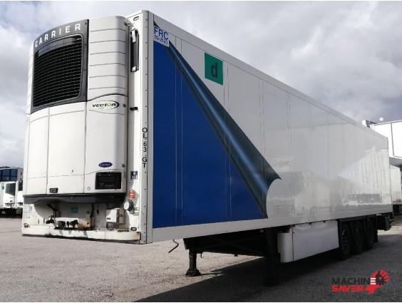 Semiremorcă frigorifică Schmitz Cargobull SKO24, Carrier Vector 1800 din 2011