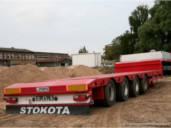 Trailer transport agabaritic Stokota S4U.N2-02 din 2018