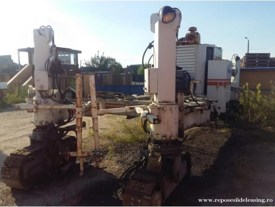 Finisor de beton Wirtgen SP 500 din 1994