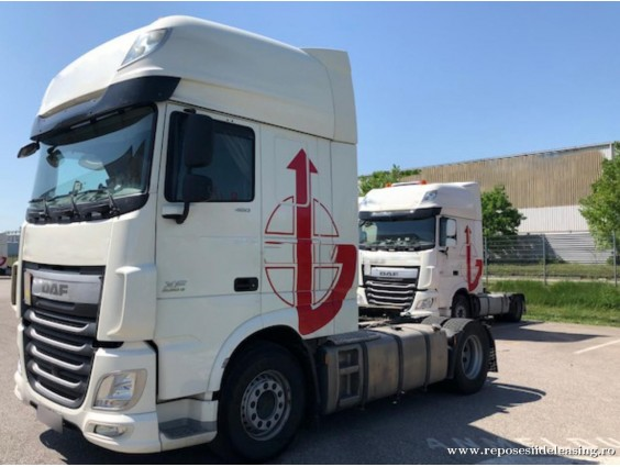 Autotractor DAF XF 105.460 FT / SSC (Euro 6) din 2014