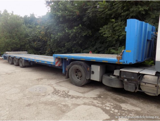 Trailer transport agabaritic LeciTrailer din 2005