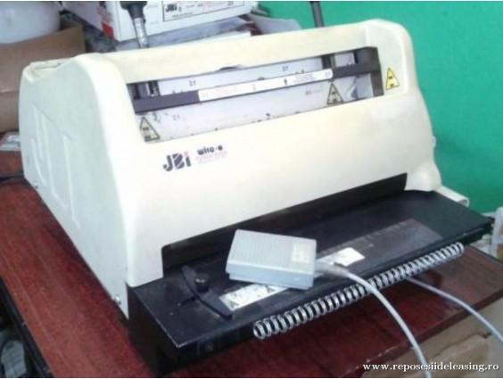 Mașină tipografică de perforat și spiralat JBI PB3300