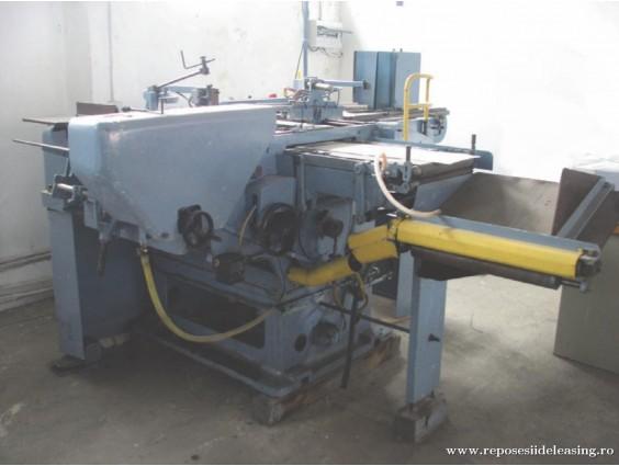 Mașină tipografică de confecționat scoarțe Polygraph Wagner BD din 1980