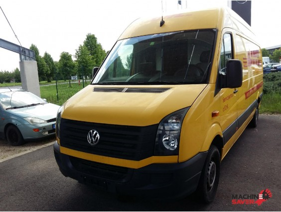 Autoutilitară Volkswagen Crafter 35 din 2014