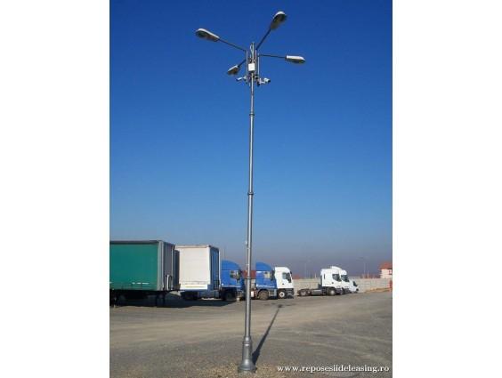 Stalp de iluminat metalic  7.50 m