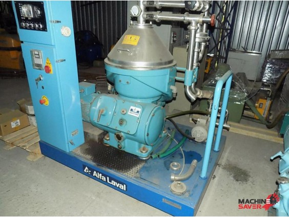 Separator bio-diesel Alfa Laval VNPX 407 SGT 34
